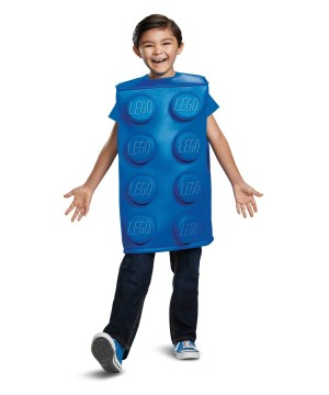 Lego Blue Brick Girls Costume