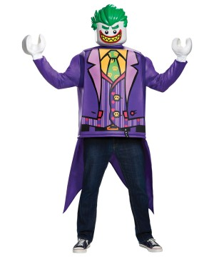 Lego Batman Joker Men Costume
