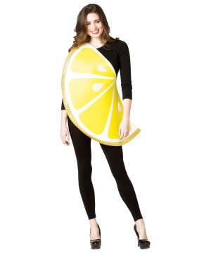 Womens Lemon Slice Costume