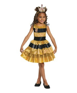 L.o.l Dolls Queen Bee Girls Costume