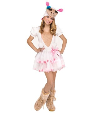 Lovely Little Llama Girl Costume