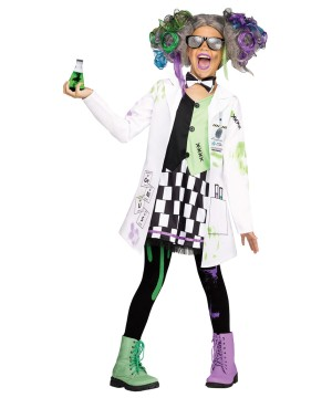 Girls Mad Scientist Costume