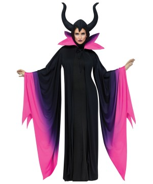 Womens Evil Queen Maleficent Robe