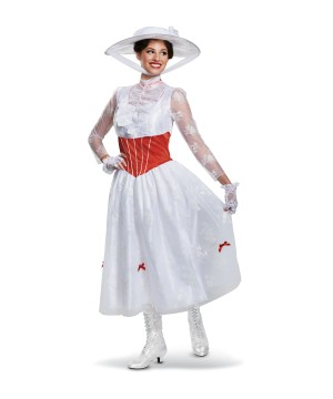 Mary Poppins Women Costume deluxe
