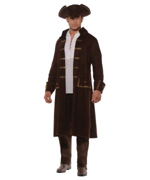 Men Brown Pirate Accessory Kit