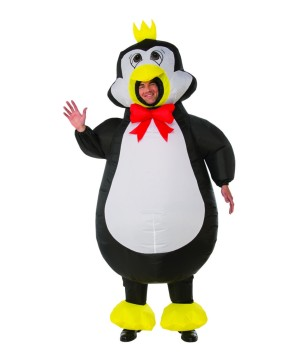 Mens Inflatable Penguin Costume