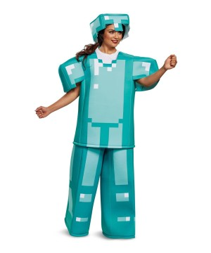 Minecraft Armor Women's Costume