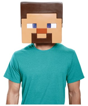 Minecraft Steve Mens Mask