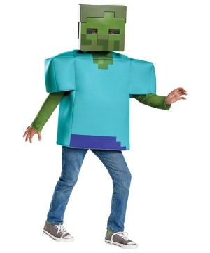 Boys Minecraft Zombie Costume