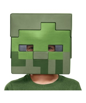 Minecraft Zombie Childrens Mask