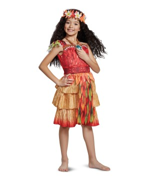 Moana Epilogue Girl Costume deluxe