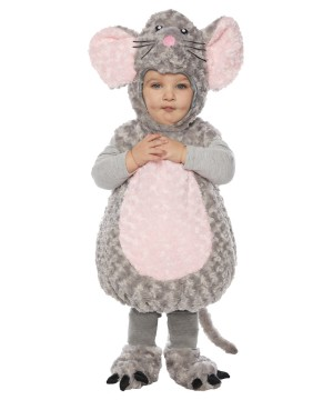 Plush Mouse Baby Costume