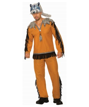 Wolf Spirit Men Costume