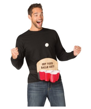 Mens Naughty Beer Pong Costume