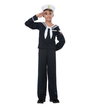 Navy Sailor Boy Costume