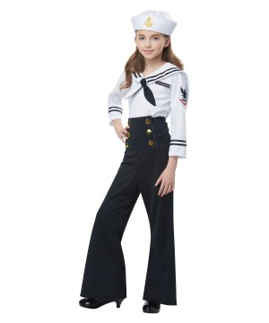 Navy Sailor Girl Costume