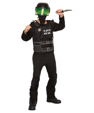 Navy Seal Boy Costume
