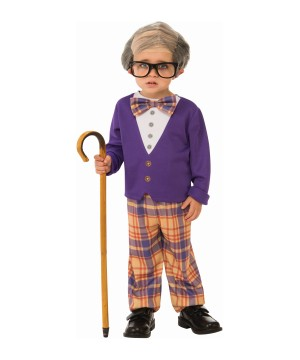 Little Old Man Boy Costume