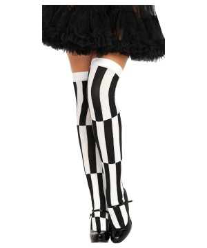 Optical Illusion Womens Tights