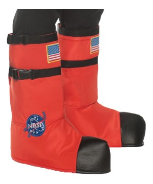 Orange Astronaut Adult Boot Tops