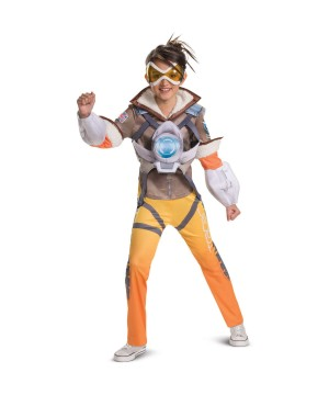Overwatch Tracer Girls Costume