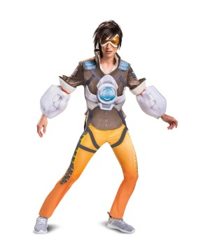 Overwatch Tracer Women Costume