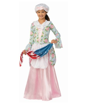 Patriotic Betsy Ross Girls Costume