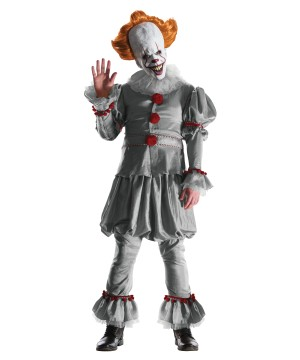 Pennywise Evil Clown Movie Costume
