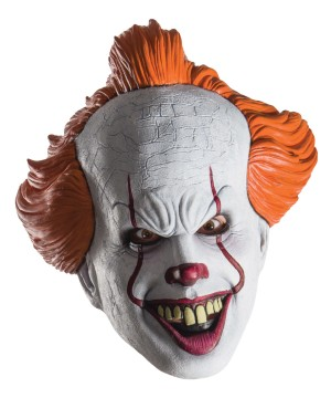 Pennywise Movie Mask