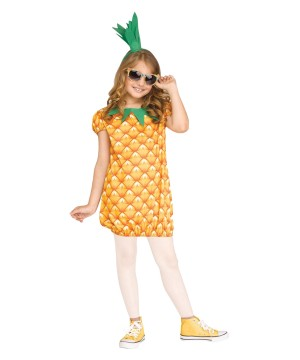 Pineapple Cutie Girls Costume