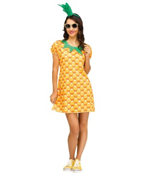 Womens Pineapple Cutie Dress up Kit