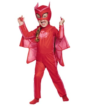 Pj Masks Owlette Girls Costume