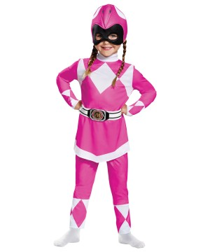 Power Rangers Pink Ranger Girls Costume