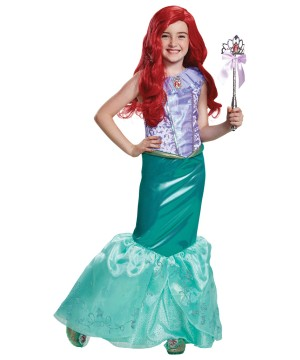 Princess Ariel Girl Costume