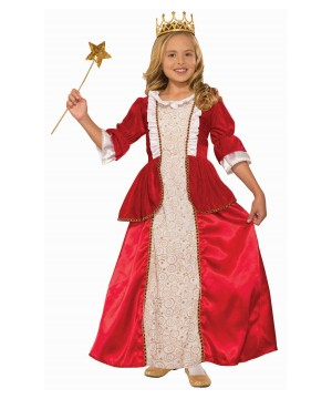 Princess Rachel Red Girl Costume