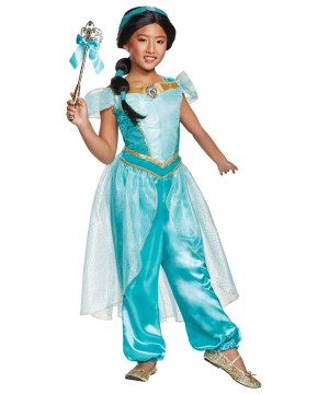Princess Jasmine Girls Costume