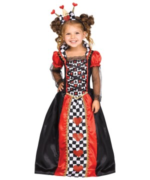 Queen of Hearts Toddler Costume