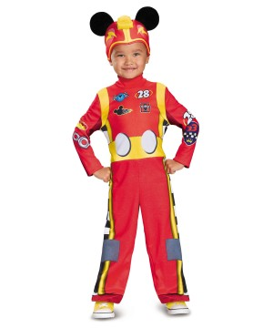 Racer Mickey Toddler Boys Costume