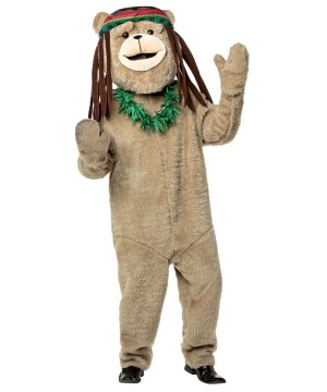 Rasta Bear Costume