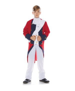Redcoat Soldier Boy Costume