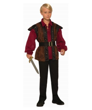Renaissance Faire Boy Costume