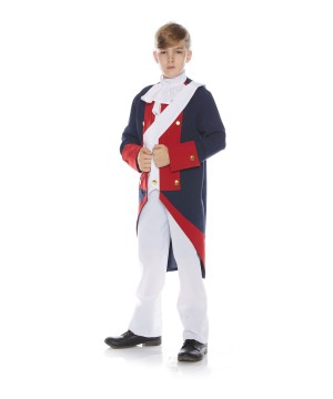 Revolutionary Soldier Boy Costume