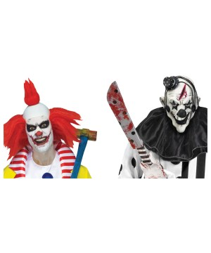 Scary Clown Window Decals