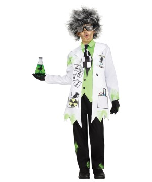 Big Kids Mad Scientist Costume