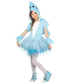 Shark Girl Costume