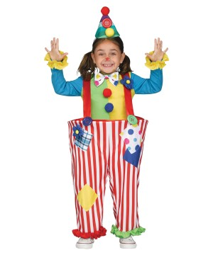 Silly Clown Girl Costume