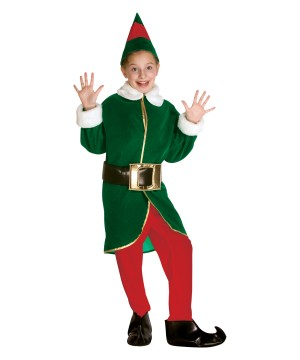 Silly Elf Kids Costume