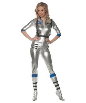 Silver Space Orbit Women Costume