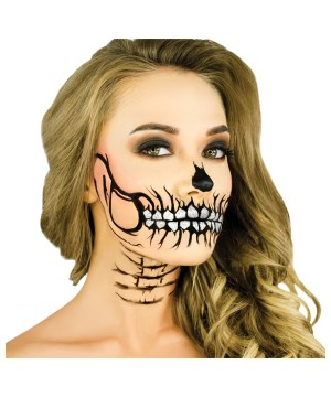 Skull Stencil and Makeup Kit
