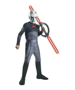 Star Wars Boys Rebels Inquisitor Costume